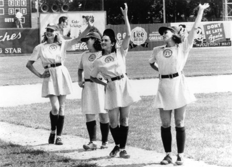 Still Of Geena Davis Madonna Lori Petty And Rosie Odonnell In League Of Their Own Large Picture Lori Petty