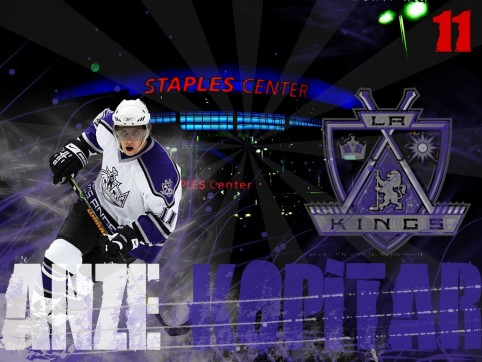 Anze Kopitar Los Angeles Kings Los Angeles Kings