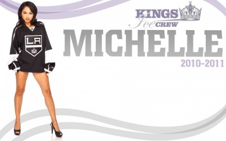 La Kings Ice Crew Michelle Los Angeles Kings
