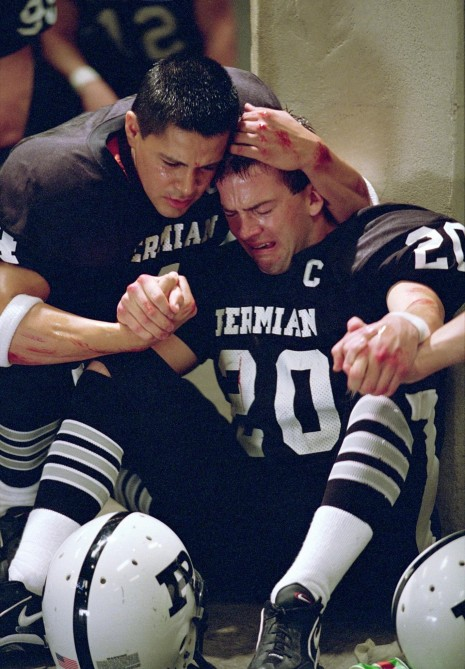 Still Of Lucas Black And Jay Hernandez In Friday Night Lights Large Picture Lucas Black