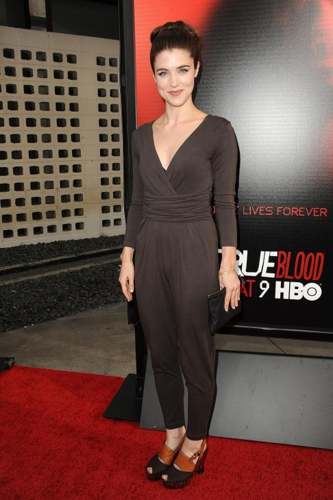 Gallery Showbiz True Blood Season Premiere Lucy Griffiths Lucy Griffiths