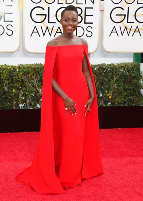 Ralph Lauren Lupita Nyong Fashion