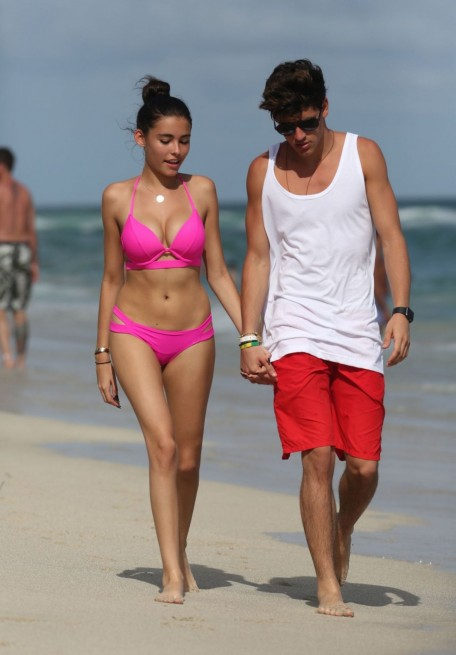 Madison Beer Hot In Bikini At Beach In Miami Madison Beer
