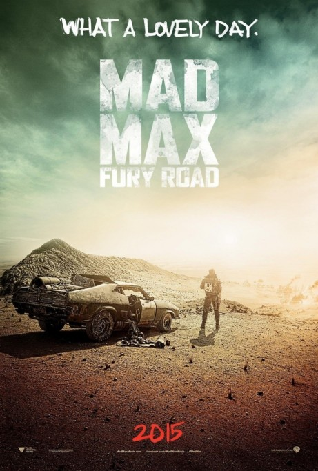 Mad Max Fury Road Movie Poster Movie