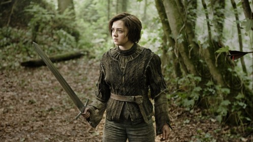Maisie Williams Game Of Thrones Season Wallpaper Wallpaper