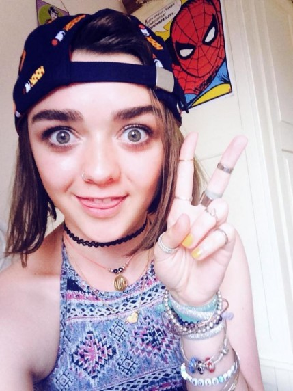 Maisie Williams Nie Lubi Spoilerujach Serial Instagram Instagram