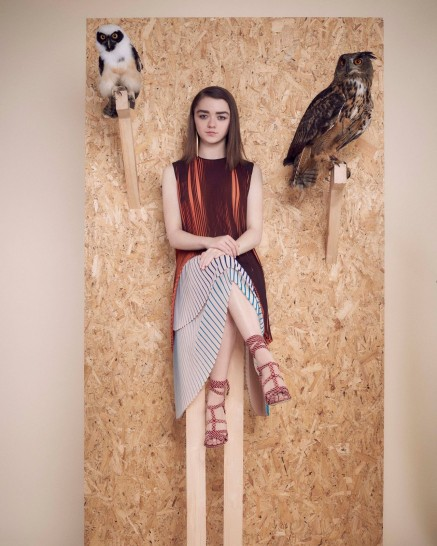 Maisie Williams Photoshoot For Instyle Magazine Uk April Maisie Williams