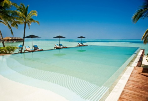 Beach Design With Pool And Laminate Floor Lux Maldives Beach