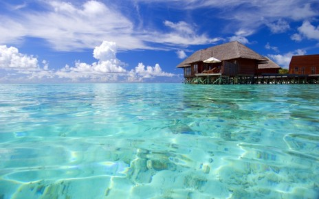 Maldives Beach Resort Location