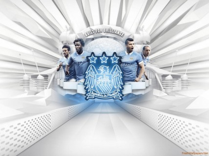 Manchester City Fc Nike Home Kit Manchester City