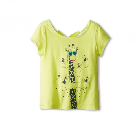 Little Marc Jacobs Printed Tee With Keyhole Back Toddler Little Kids Shirts Tops Clothes