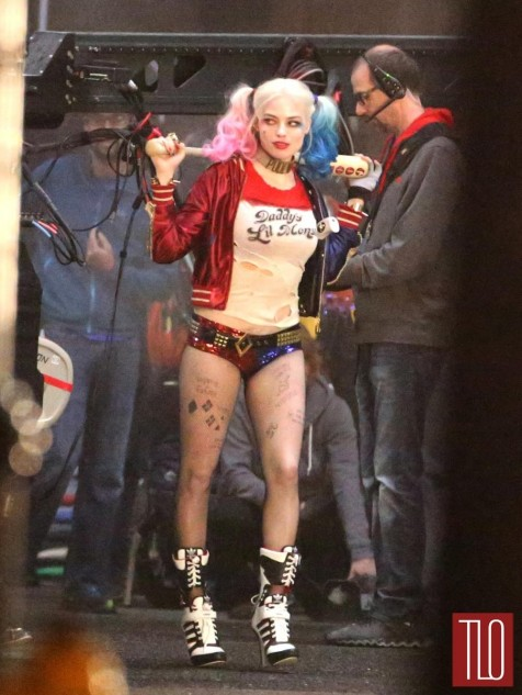 On Set Movie Suicide Squad Margot Robbie Will Smith Tom Lorenzo Site Tlo Movies