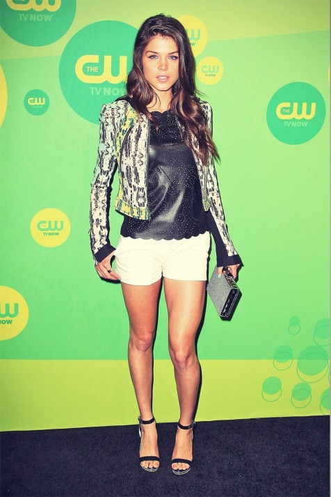 Marie Avgeropoulos Attends Cw Network Upfront Marie Avgeropoulos