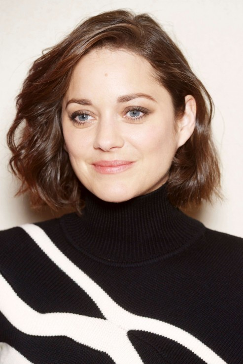 Short Hairstyles For Square Faces Marion Cotillard Marion Cotillard