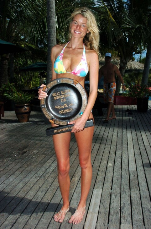 Kelly Hu And Marisa Miller Kelly Slater Invitational In Fiji