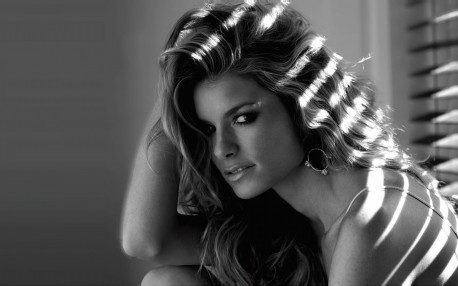Marisa Miller Black And White Wallpaper Ripd