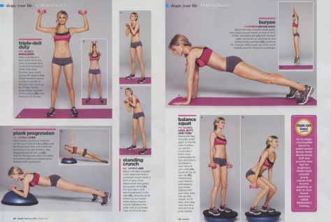 Star Workout Marisa Miller