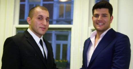 Derin Cag Founder Of Richtopia And Mark Wright Winner Of Bbc The Apprentice Mark Wright