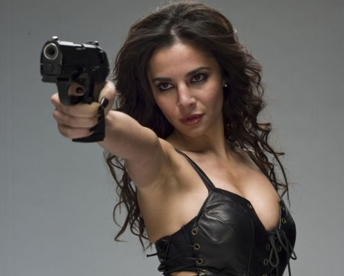 Martha Higareda Smokin Aces