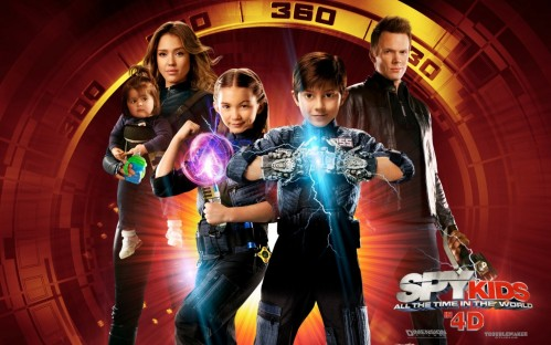 Spy Kids Mason Cook And Joel Mchale In All The Time World Mason Cook