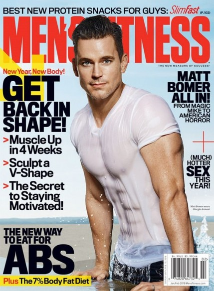 Matt Bomer Abs Mens Fitness Matt Bomer
