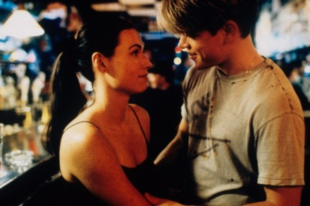 Still Of Matt Damon And Minnie Driver In Aanio Indom Vel Large Picture Good Will Hunting