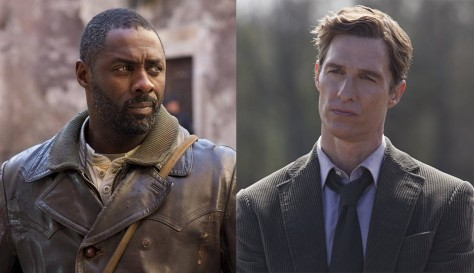 Idris Elba Matthew Mcconaughey The Dark Tower Matthew Mcconaughey