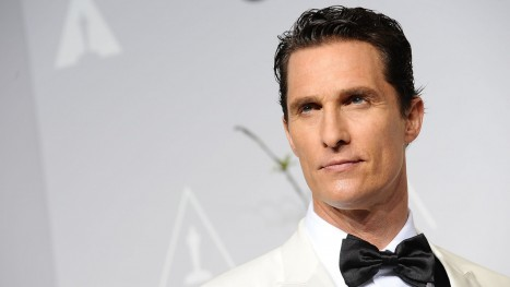 Matthew Mcconaughey In White Tuxedo Wallpaper For Matthew Mcconaughey