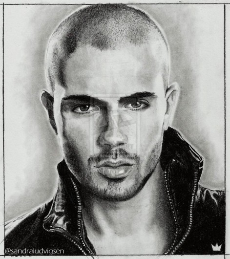 Max George Drawing The Wanted