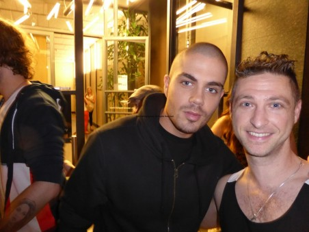 Max George Of The Wanted And Geoffrey Dicker Max George