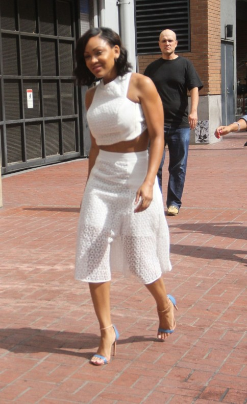 Meagan Good Arriving At Comic Con In San Diego July Meagan Good