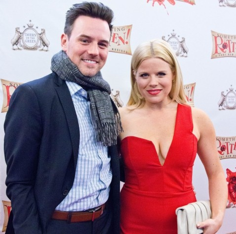 Brian Gallagher Megan Hilty Brian Gallagher