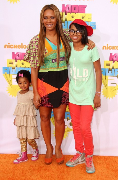 Mel Her Girls Bring Some Spice To The Kids Choice Awards Mel