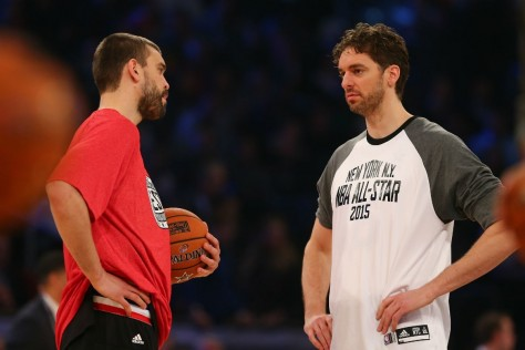 Memphis Grizzlies Marc Gasol And Chicago Bulls Pau Gasol Memphis Grizzlies