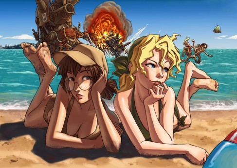 Metal Slug Beach Party Metal Slug