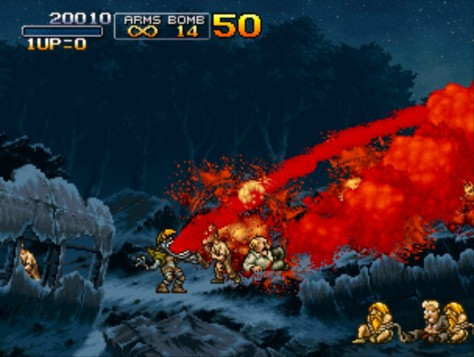 Metal Slug Windows Screenshot In The Second Mission You Metal Slug