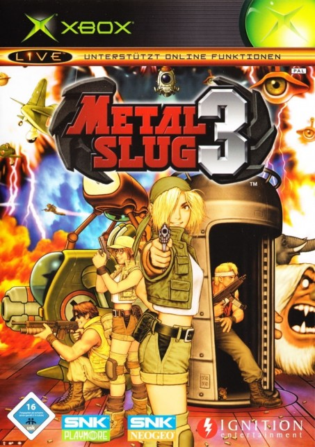 Metal Slug Xbox Front Cover Metal Slug