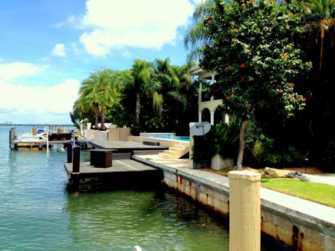 Venetian Islands Miami Beach Home With The Boat Dock Location