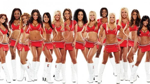 Cheerleaders The Miami Heat Dancers United States Usa Pictures Team