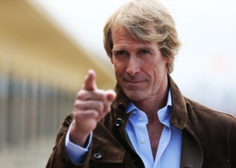 Director Michael Bay Poses During The Unveiling Of Hiscroppromo Xlarge