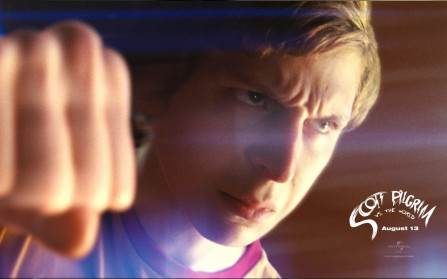 Scott Pilgrim Vs The World Michael Cera Wallpaper