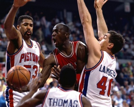 Michael Jordan Bill Laimbeer Lebron James