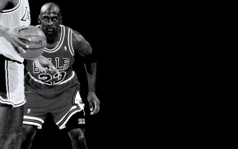 Michael Jordan Focus Wallpaper Dekstop Windows
