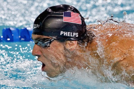 Michael Phelps At Ete American Swimmer The Baltimore Bullet Wallpaper