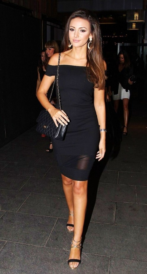 Michelle Keegan Night Out In Machester Michelle Keegan