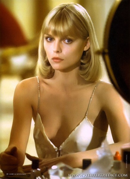 Michelle Pfeiffer In Scarface Michelle Pfeiffer Michelle Pfeiffer