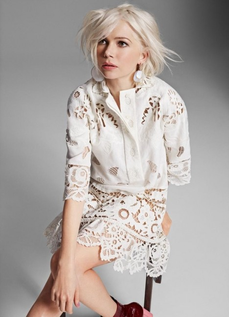 Michelle Williams By Kerry Hallihan For Elle Uk April Michelle Williams