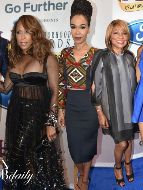 On The Scene The Neighborhood Ychoodiesyc Awards Featuring Steve Harvey Marjorie Harvey Michelle Williams And More Michelle Williams