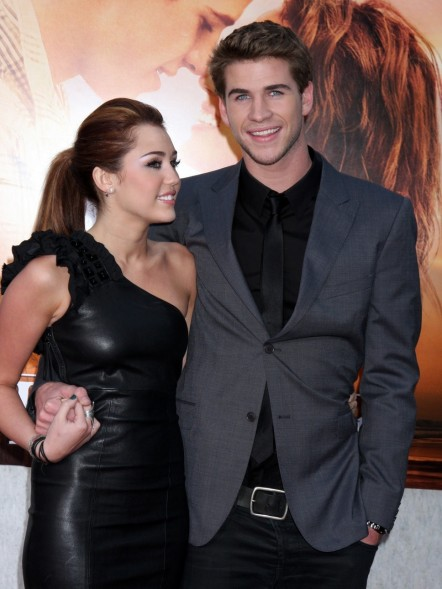 Miley Cyrus Liam Hemsworth Last Song Premiere And Liam Hemsworth