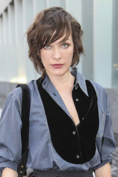 Milla Jovovich Was Seen At The Prada Dinner And Presentation In Milan Milla Jovovich